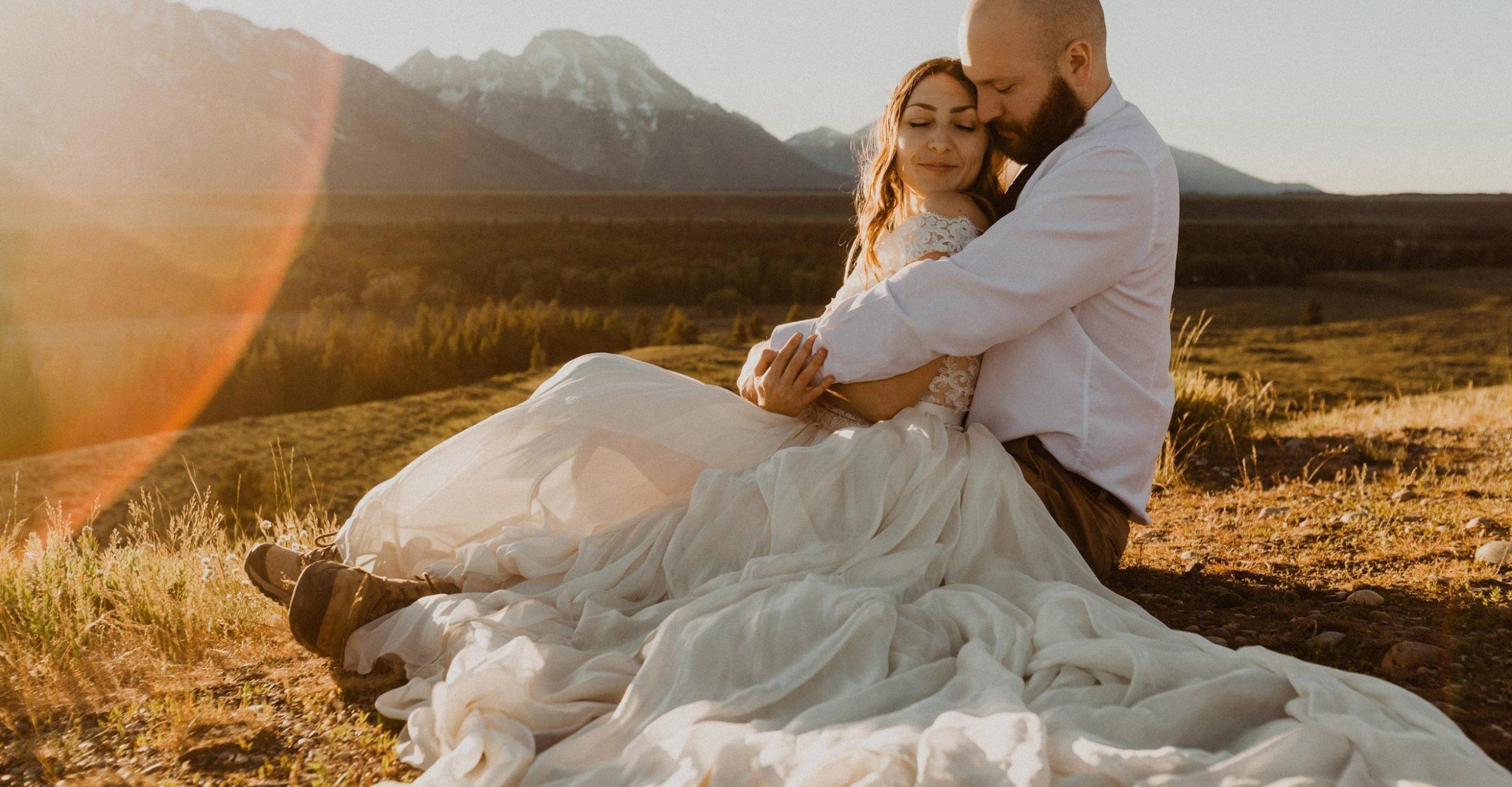 jackson hole wedding - grand tetons wedding - the olive bungalow