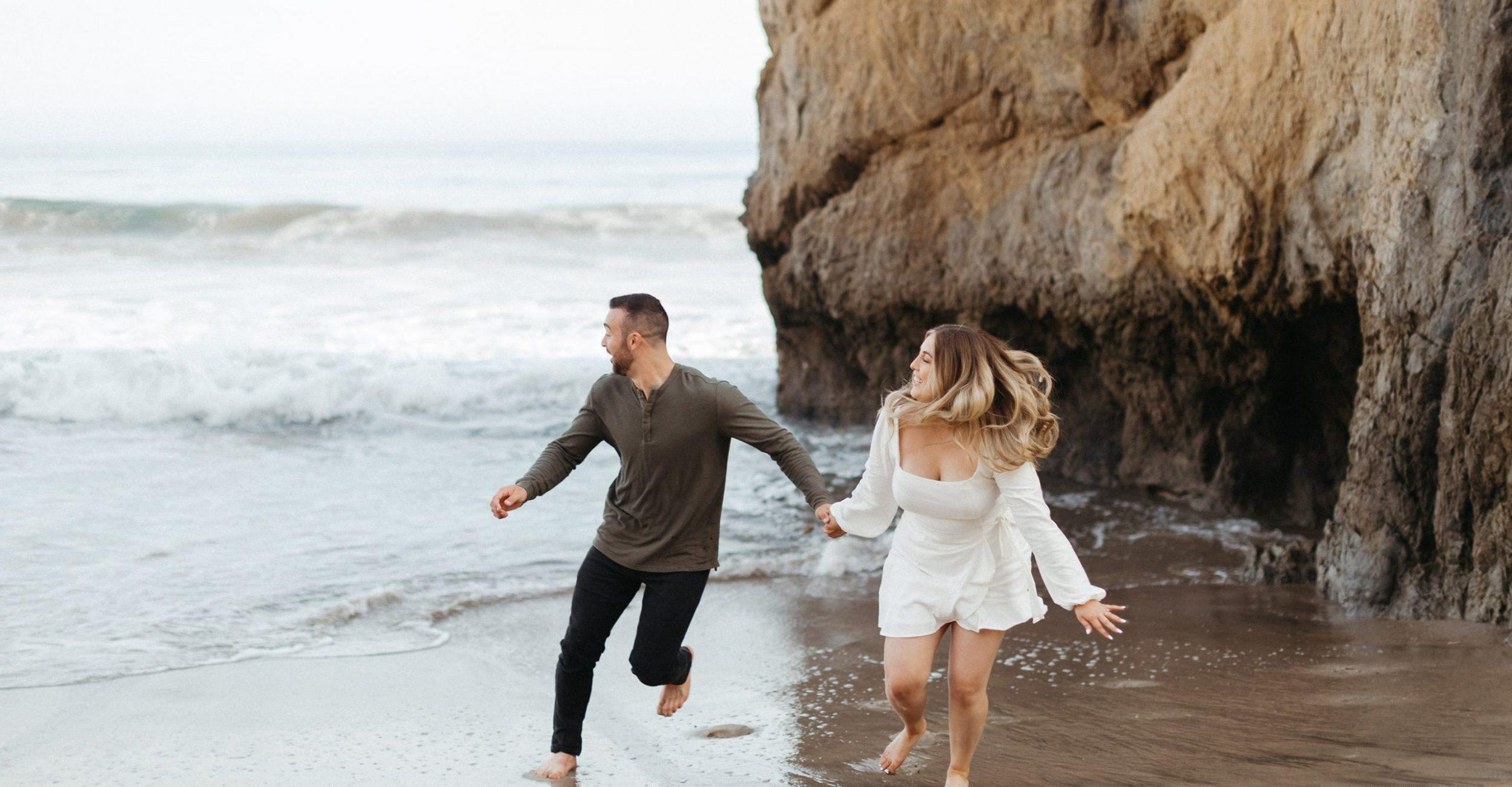 malibu el matador beach wedding - the olive bungalow