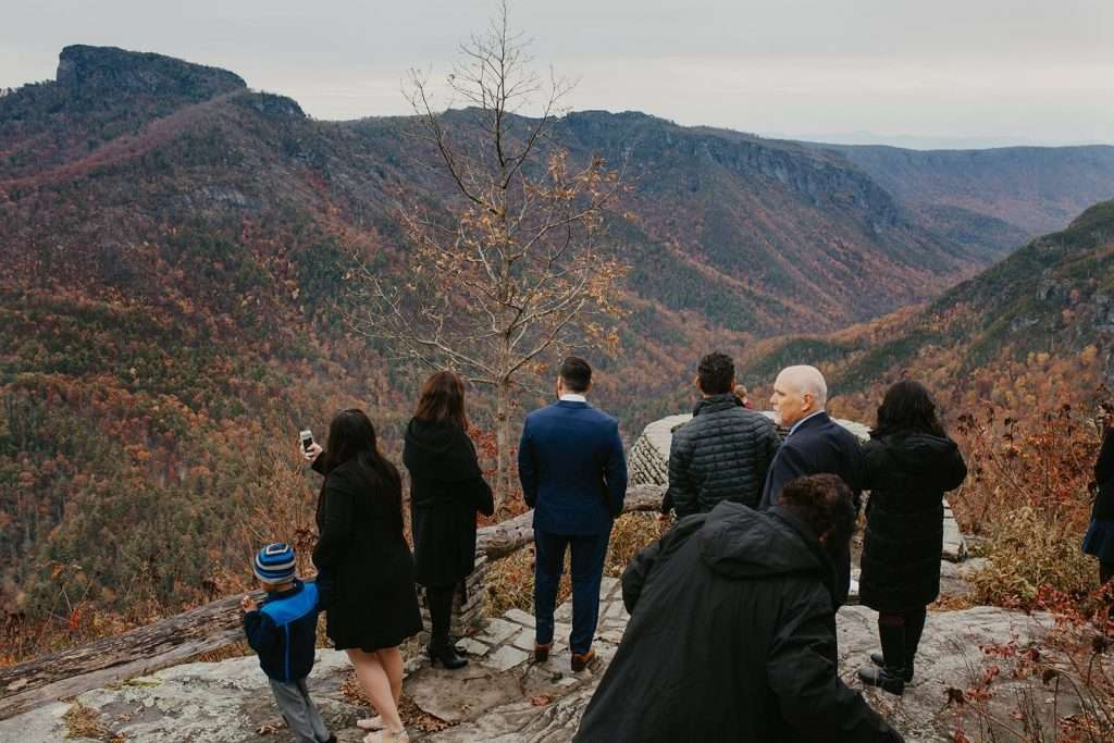 linville gorge elopement north carolina wedding